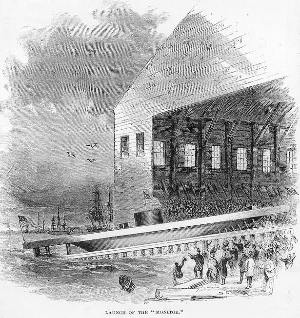 Line Engraving, Harper's Weekly, September 1862